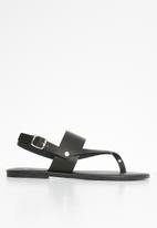 Superbalist - Katie t-bar sandal - black