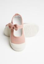 POP CANDY - Girls bow slip on shoe - pink