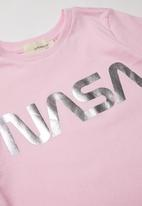 Superbalist Kids - NASA girls tee - pink