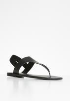 Superbalist - Londdi t-bar sandal - black