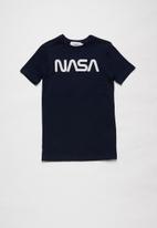 Superbalist - Nasa printed tee - navy