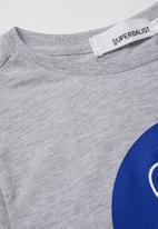 Superbalist - NASA logo tee - grey