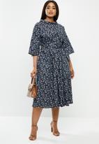 AMANDA LAIRD CHERRY - Plus lindi dress - multi
