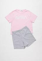 Superbalist - Girls sleepwear set - pink & grey
