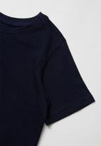 POP CANDY - Girls 2 pack tee - navy & grey