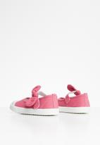 POP CANDY - Girls bow slip on shoe - coral