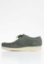 Grasshoppers - Origin suede moccasin - charcoal