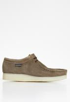 Grasshoppers - Origin suede moccasin - coffee
