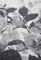 Fotakis - Option rug - floral greyscale