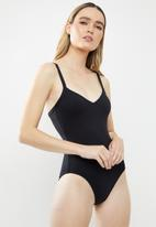 Seafolly - Seafolly sweetheart maillot - black