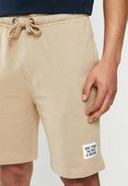 Brave Soul - Locust shorts - stone