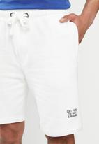 Brave Soul - Locust shorts - off white