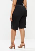 Carmakoma - Felicity long shorts - black