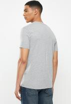 Replay - Side printed logo tee - grey