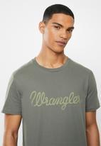 Wrangler - Classic tee - gunmetal