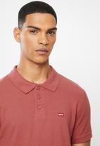 Levi's® - Ama housemark polo - earth red
