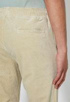 Superbalist - Deco corduroy pants - stone