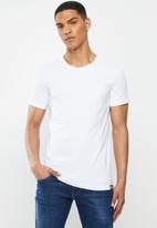 Diesel  - Randal crew neck 3 pack tees - white