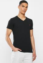 Diesel  - Michael v neck short sleeve 3 pack tees - black