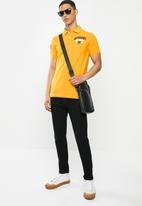 Superdry. - Classic superstate polo - yellow