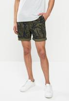 Superdry. - Sunscorched chino shorts - green