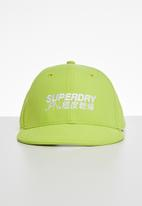 Superdry. - 6 Panel soft cap - green