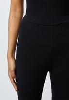 Superbalist - 2 pack leggings - black & navy