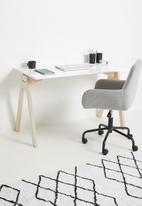 Native Decor - Simple 'a' desk - white