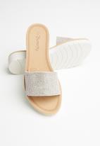 Butterfly Feet - Corley sandal - silver