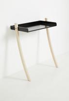Native Decor - Leaning desk - black