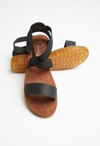 Butterfly Feet - Edan sandal - black