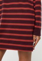 Vans - Stripe polo dress - port royale