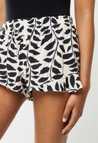 Superbalist - Sleep cami & shorts set - eru & black print