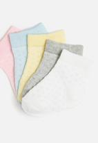 POP CANDY - Girls 5 pack socks - multi