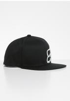 Fox - Headers snapback hat - black