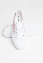 SUPERGA - 2953 Classic swallow  - white/pale pink