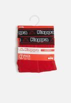 KAPPA - Logo bix 2 pack trucks - red & black