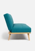 Sixth Floor - Brooklyn sleeper couch - petrol blue