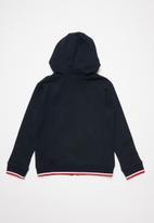 POLO - Skylar zip through hoodie - navy