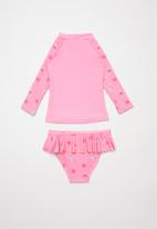 POP CANDY - Ice-cream two piece swimsuit - pink
