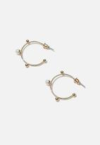 Rubi - Luxe layers medium oslo hoop - gold