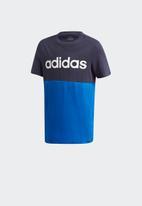 adidas Originals - Boys lin cb short sleeve tee - blue