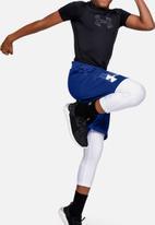 Under Armour - Prototype logo shorts - blue & white