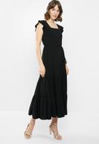 AMANDA LAIRD CHERRY - Cubhu dress - black