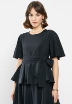 AMANDA LAIRD CHERRY - Zilondi dress - black