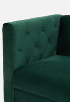 Sixth Floor - Penelope 3 seater - emerald green