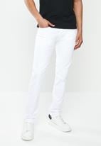 Replay - Slim anbass white denim  - white
