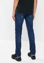 Replay - Slim dark wash replay denim  - dark blue