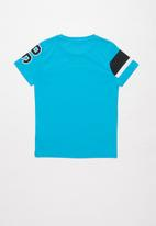 name it - Fauzt short sleeve top - blue