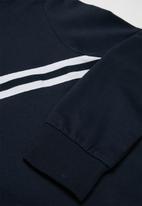 name it - Thunder long sleeve hoodie - navy